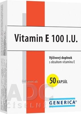 GENERICA Vitamin E 100 I.U.