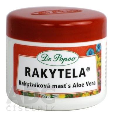 DR. POPOV RAKYTELA rakytníková masť s Aloe Vera