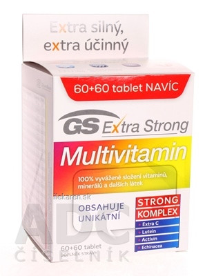 GS Extra Strong Multivitamín 2017