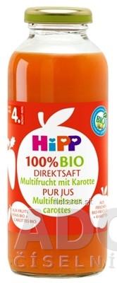 HiPP 100 % BIO Ovocna šťava s karotkou