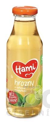 Hami nápoj Hrozno s voňavou medovkou