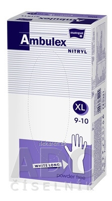 Ambulex rukavice NITRYLOVÉ
