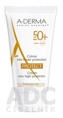 A-DERMA PROTECT CRÈME SPF50+