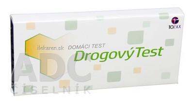 TOZAX Multidrogový test – 10 druhov drog