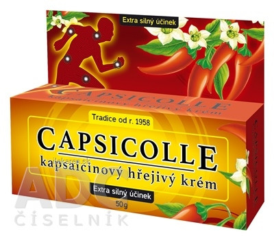 CAPSICOLLE kapsaicínový krém
