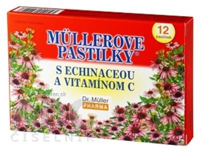 MÜLLEROVE PASTILKY S ECHINACEOU A VIT. C