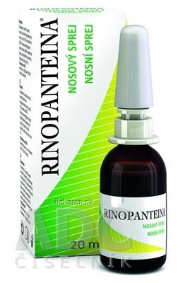Rinopanteina nosový sprej