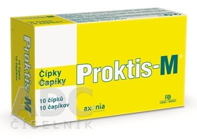 PROKTIS-M rektálne čapíky