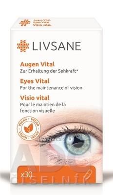 LIVSANE Podpora pre zdravé oči