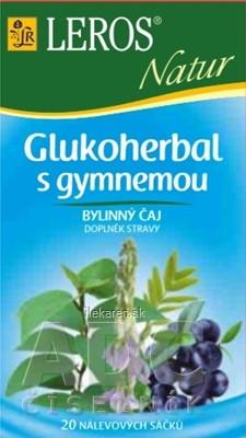LEROS NATUR GLUKOHERBAL S GYMNEMOU (Diabet. zmes)