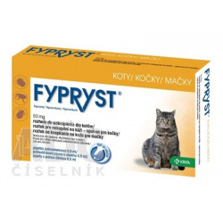 FYPRYST 50 mg MAČKY