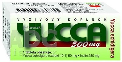 NATURVITA YUCCA 500 mg Yucca shidigera