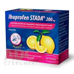 Ibuprofen STADA 200 mg perorálny prášok