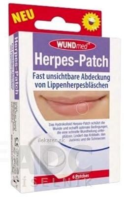 WUNDmed Náplasť na herpes