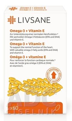 LIVSANE Omega-3 plus vitamín E