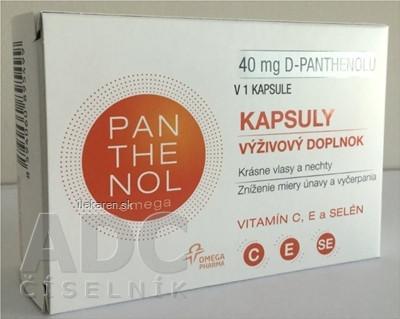 omega PANTHENOL 40 mg