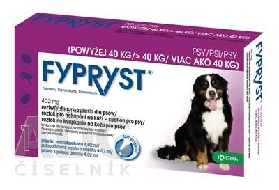 FYPRYST 402 mg PSY NAD 40 KG
