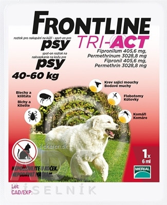 FRONTLINE TRI-ACT Spot-On pre psy XL