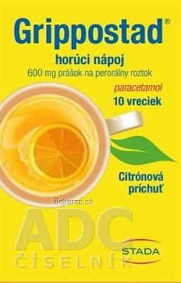 Grippostad horúci nápoj