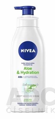 NIVEA Ľahké telové mlieko Aloe & Hydration