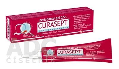 CURASEPT ADS SOOTHING 0,5% Parodontálny gél