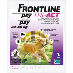 FRONTLINE TRI-ACT Spot-On pre psy L