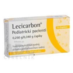 Lecicarbon Pediatrickí pacienti