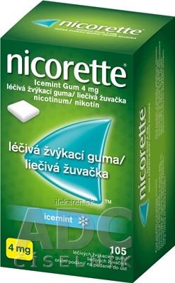Nicorette Icemint Gum 4 mg
