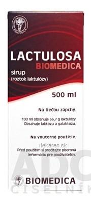 LACTULOSA BIOMEDICA