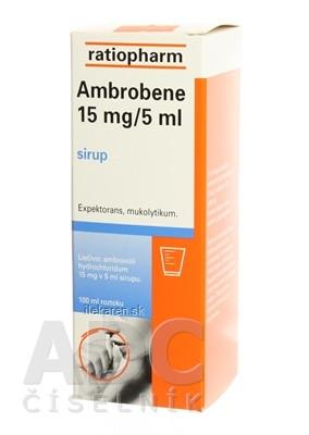 AMBROBENE 15 mg/5 ml