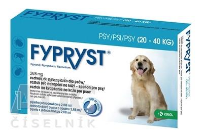 FYPRYST 268 mg PSY 20-40 KG