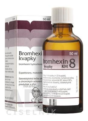 BROMHEXIN 8-KVAPKY KM