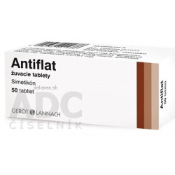 Antiflat žuvacie tablety
