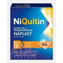 NiQuitin Clear 14 mg