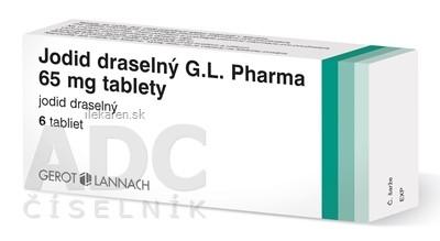 Jodid draselný G.L. Pharma 65 mg tablety