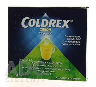 COLDREX Horúci nápoj Citrón