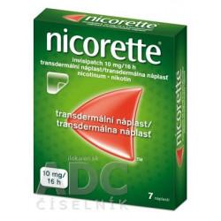 Nicorette invisipatch 10 mg/16 h transder. náplasť
