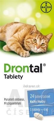 Drontal tablety (pre mačky)