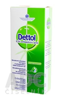 Dettol 0,2% antiseptický sprej