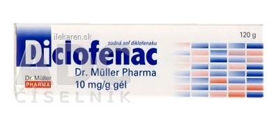 Diclofenac Dr. Müller Pharma 10 mg/g gél