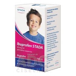 Ibuprofen STADA 40 mg/ml perorálna suspenzia