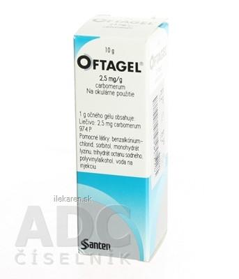 OFTAGEL 2,5 mg/g