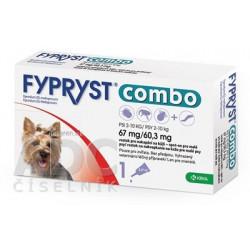 FYPRYST combo 67 mg/60,3 mg PSY 2-10 KG