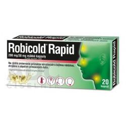 Robicold Rapid 200 mg/30 mg mäkké kapsuly