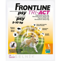 FRONTLINE TRI-ACT Spot-On pre psy S