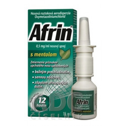 Afrin 0,5 mg/ml nosový sprej s mentolom